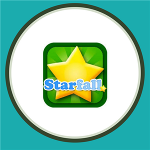 Starfall supports reading, writing and math in grades PreK-1st.