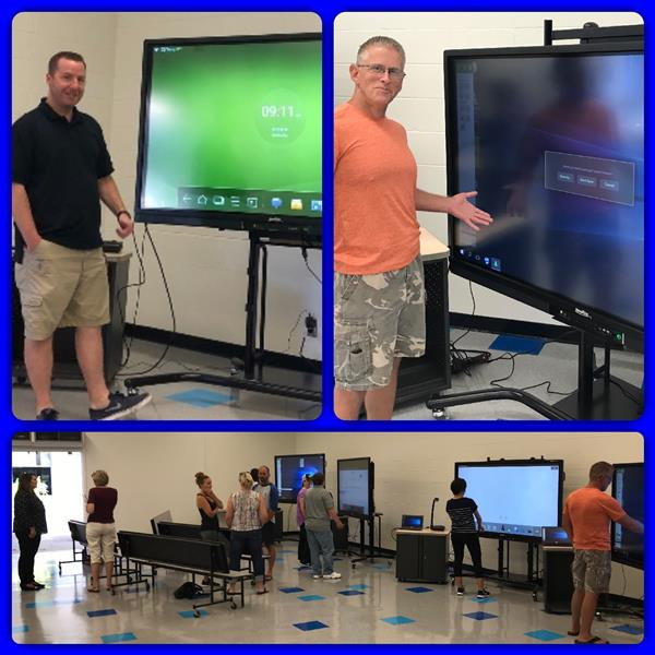 Newline Interactive Display Training for PVSEA Staff