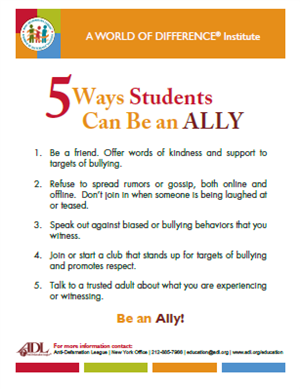 5 ways to be an ally