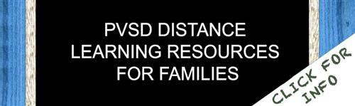 PVSD Distance Learning Resources For Families
