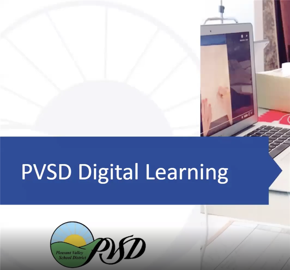 PVSD Digital Learning Graphic