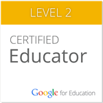 Google for Education Certified Educator Level 2