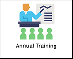 Annual Training Graphic Button